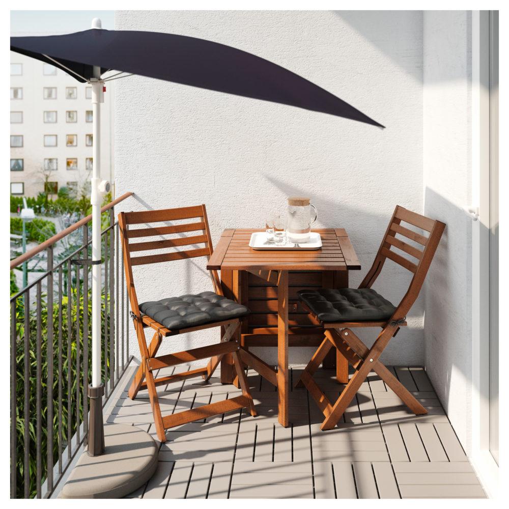 Umbrella functional outdoor space