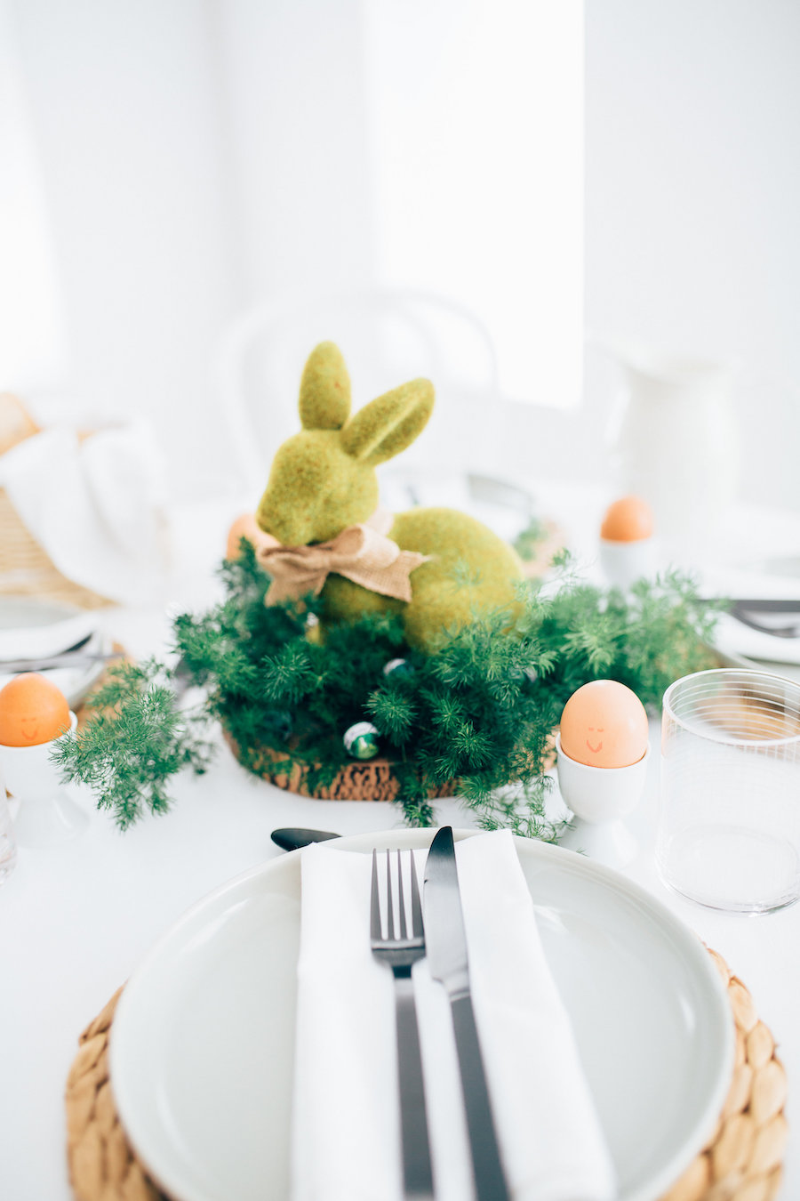 Bunny centrepiece