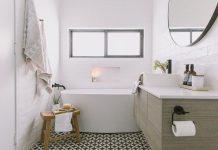 Encaustic tile feature