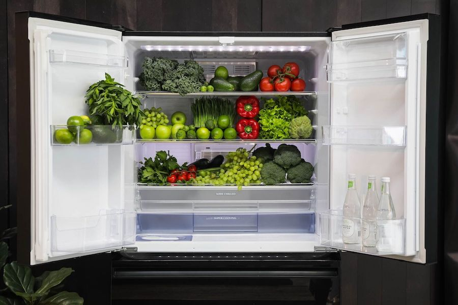 Fridge compartments