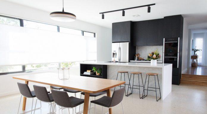 Kitchen dining landscape