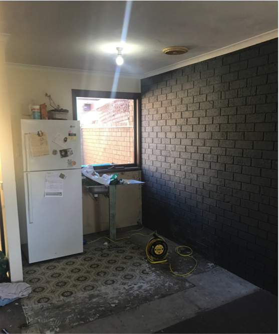 Kitchen removal