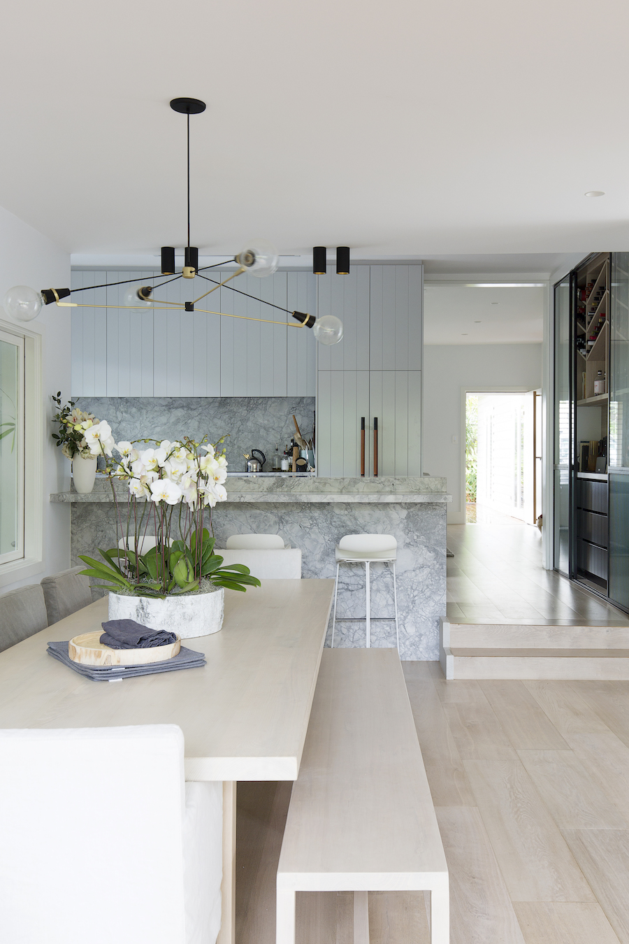 Modern kitchen planning