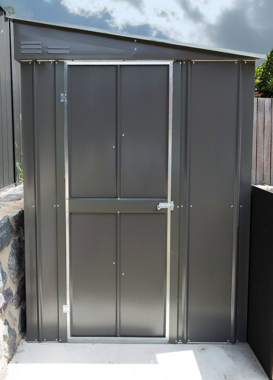 Modern garden shed Treco