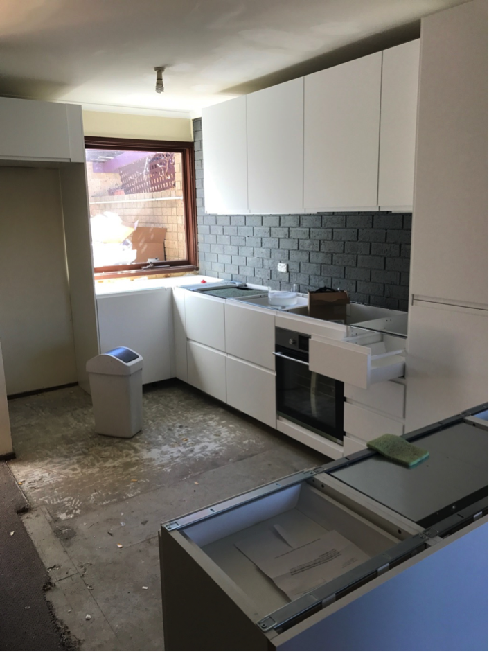 Remodelling a kitchen