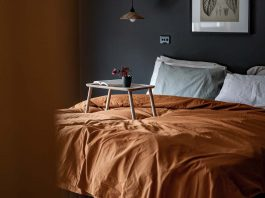 Amber quilt cover