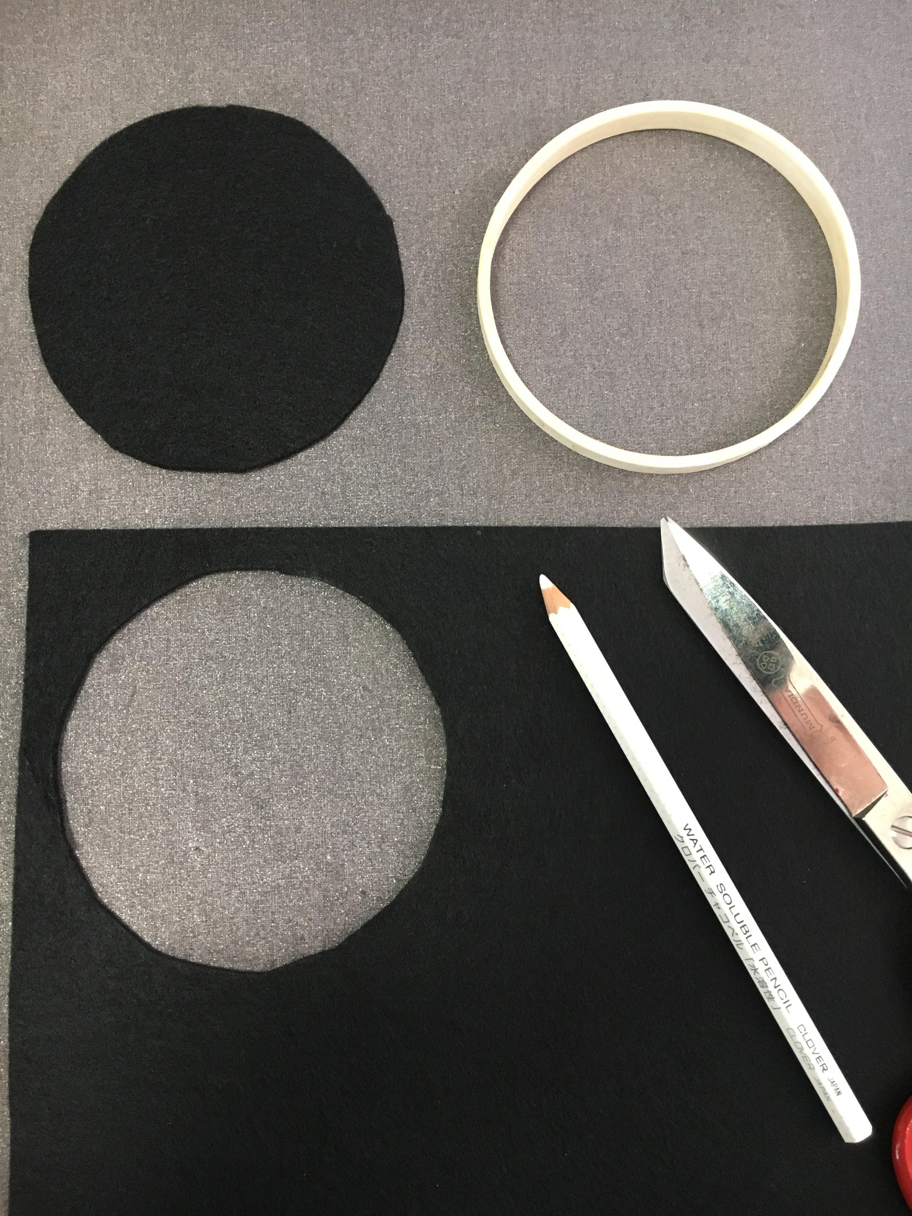 Cross-stitch in progress