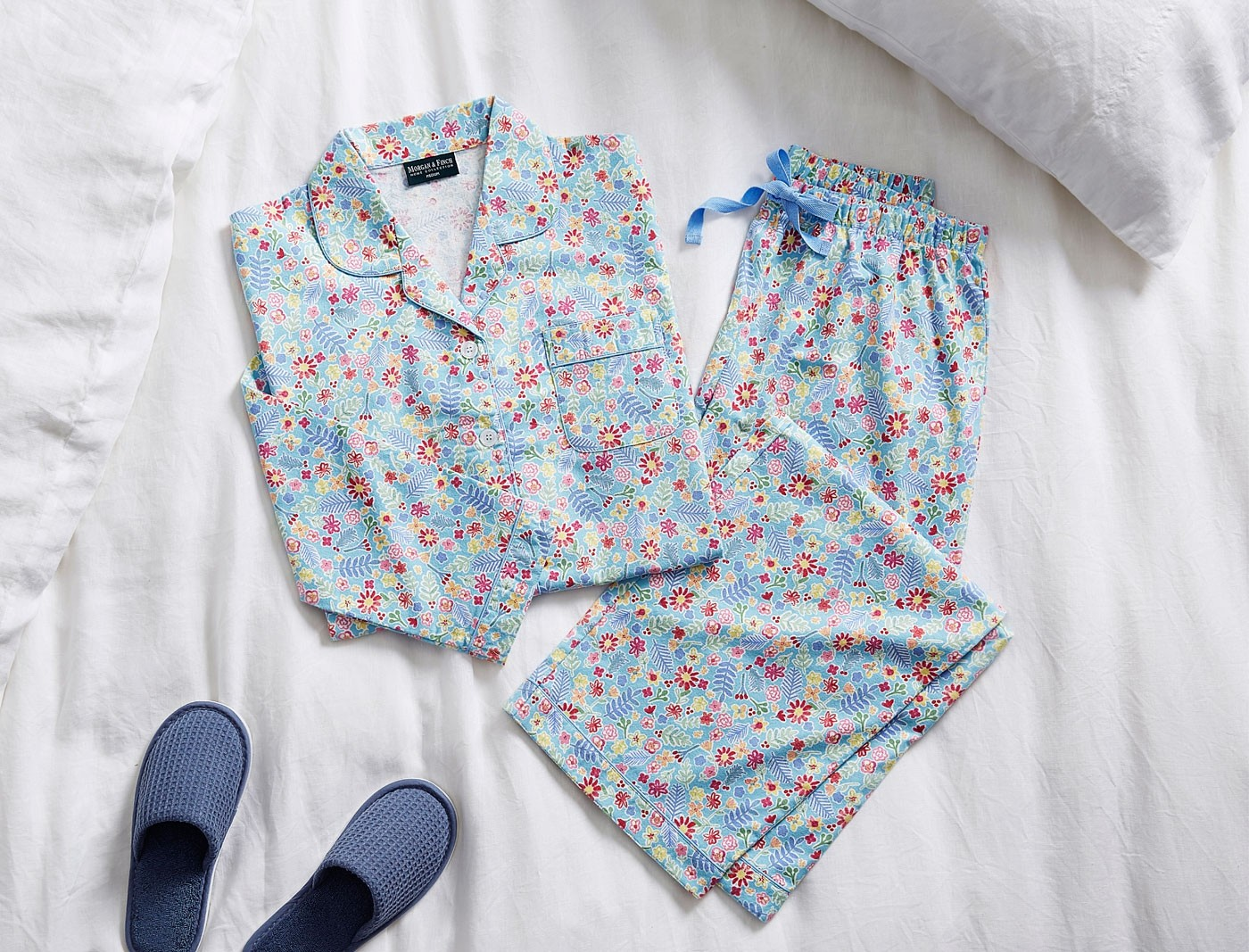 Morgan & Finch Flora Flannel PJs from Bed Bath N Table
