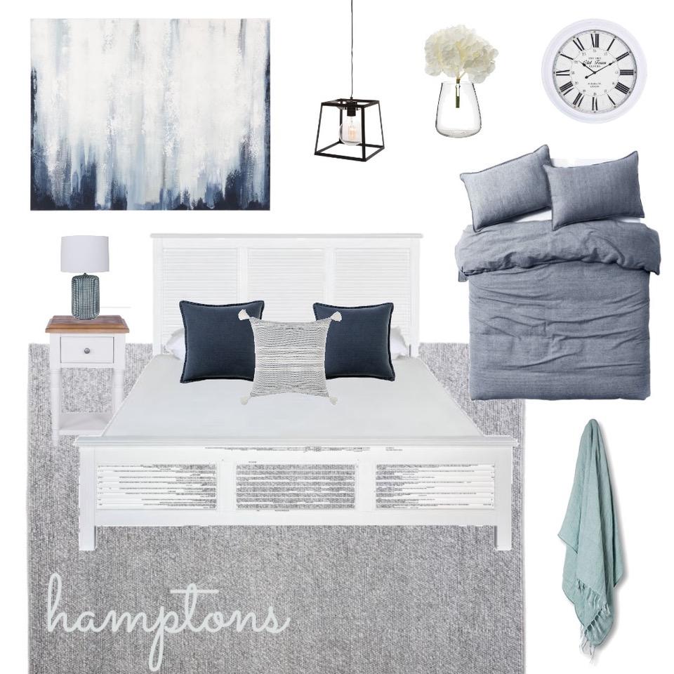 Hamptons mood board