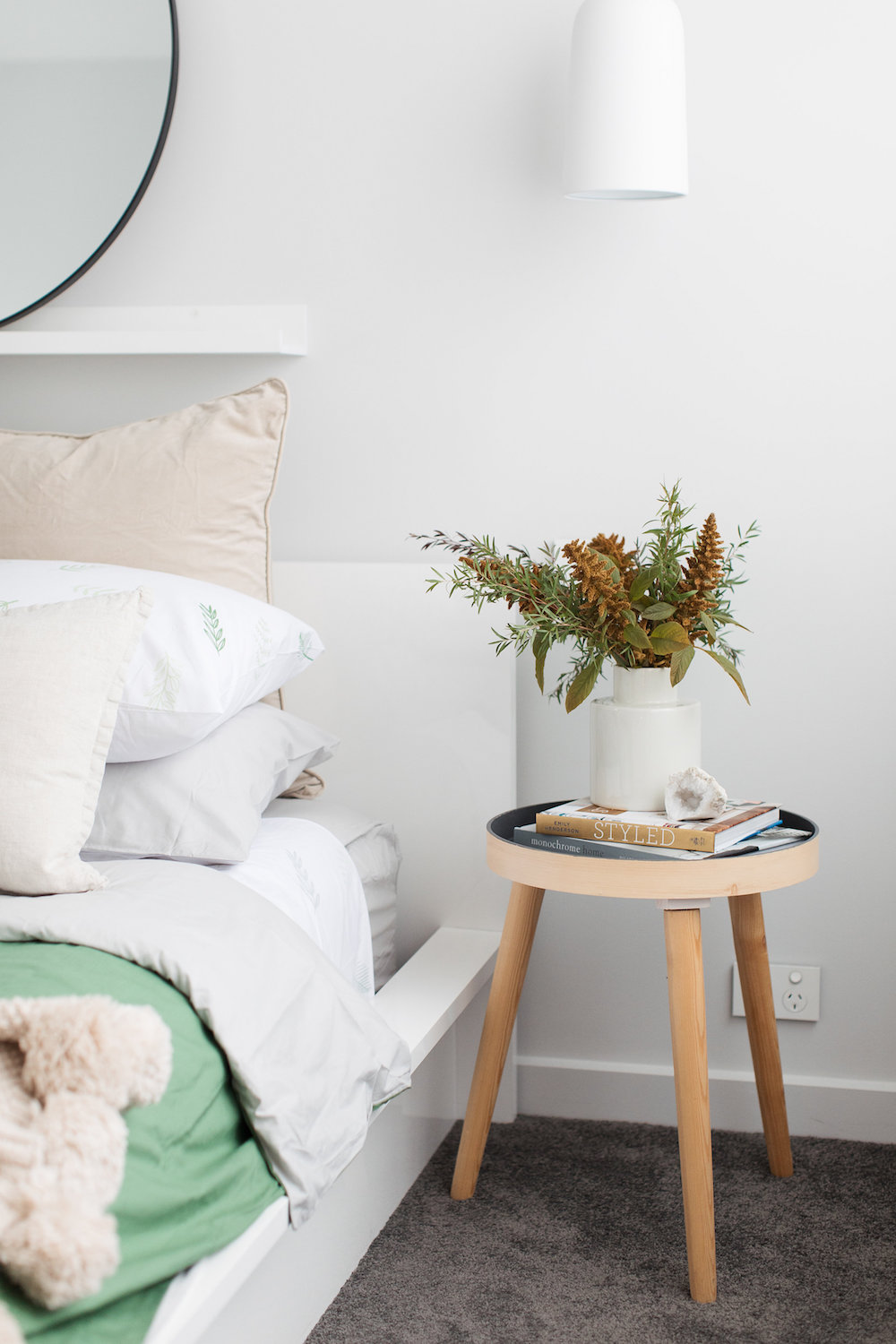 Bedside details how to style your bedside table