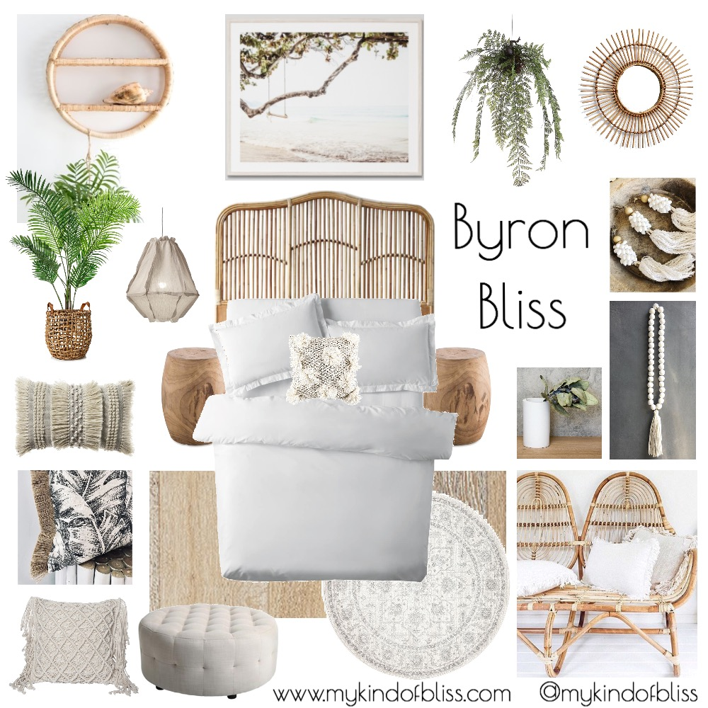 Byron bliss mood board