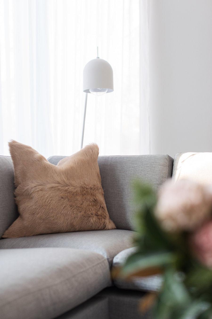 Lamp living room makeover