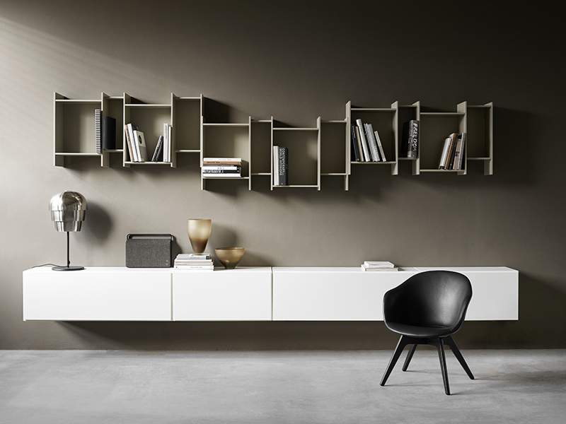 Floating bookcase like wall art