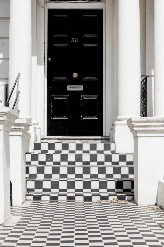 Black fabulous front doors