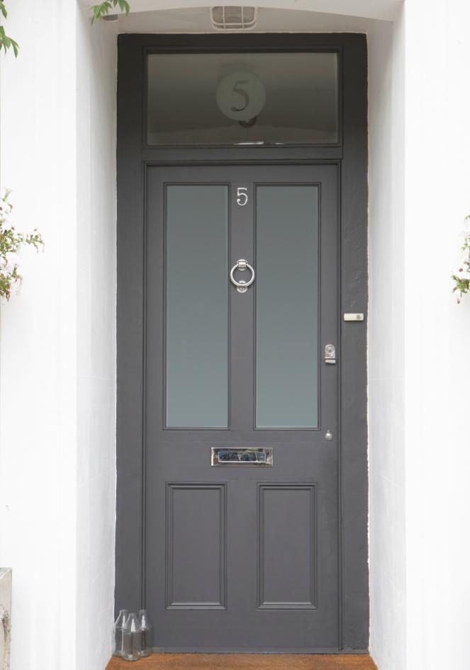 Grey Front Door Style Curator