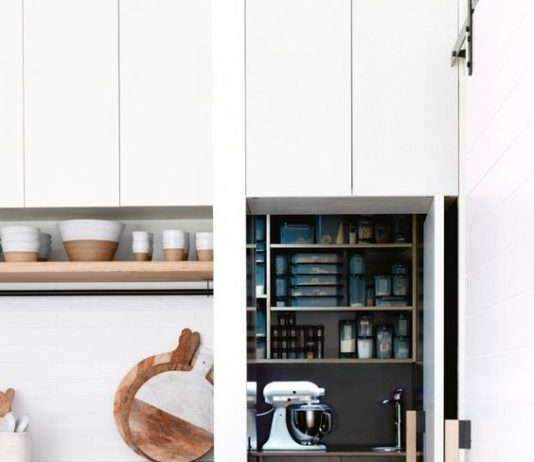Black butler's pantry
