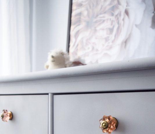 New handles on dresser