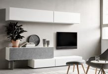 Designer wall unit