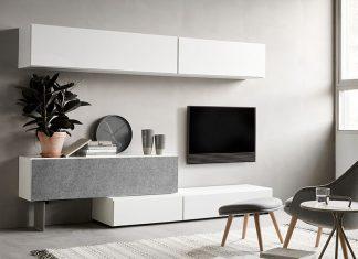 Designer wall unit