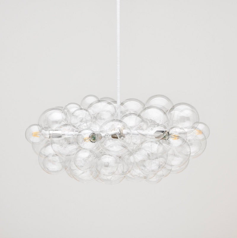 Glass ball feature lights