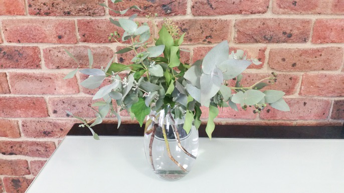 Foliage in vase
