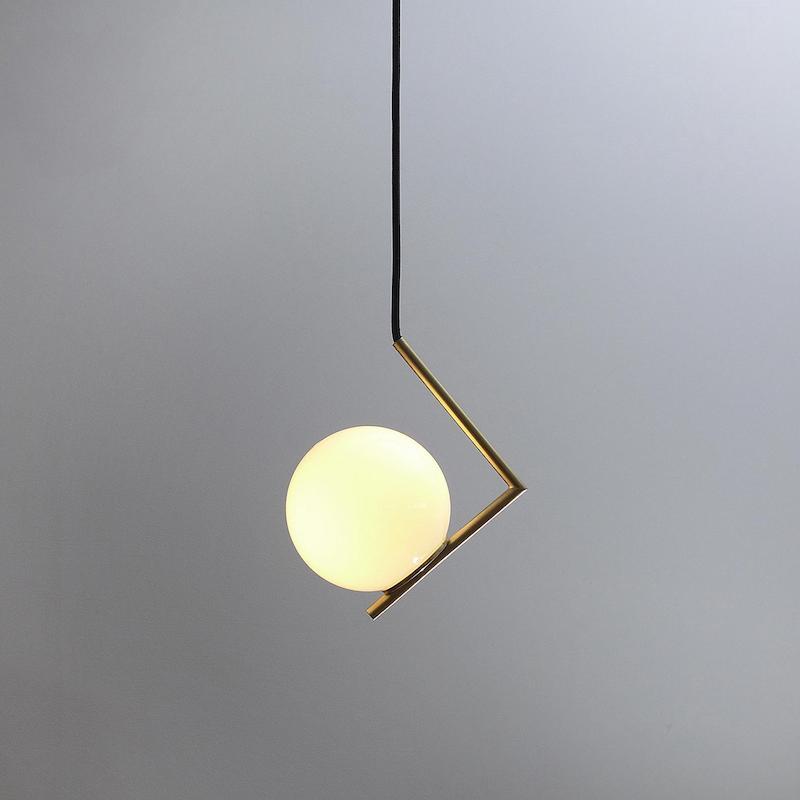 Glass ball pendant light Glass ball feature lights