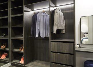 Luxurious wardrobe