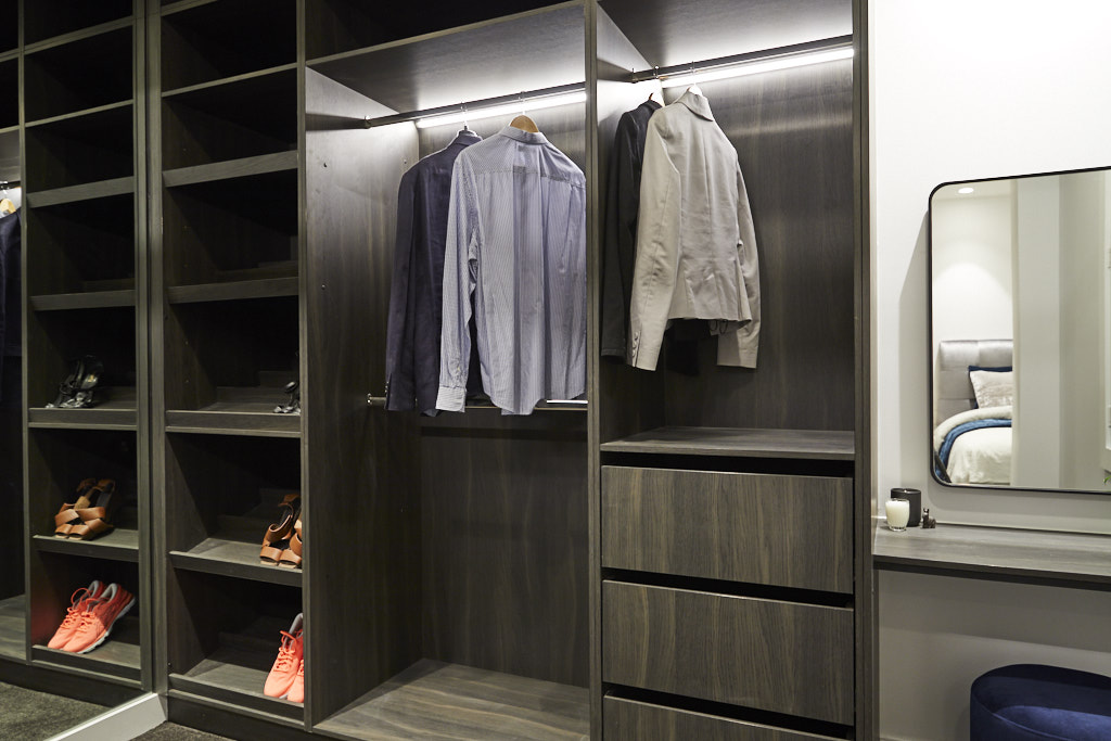 Luxurious wardrobe