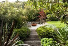 Easy care garden