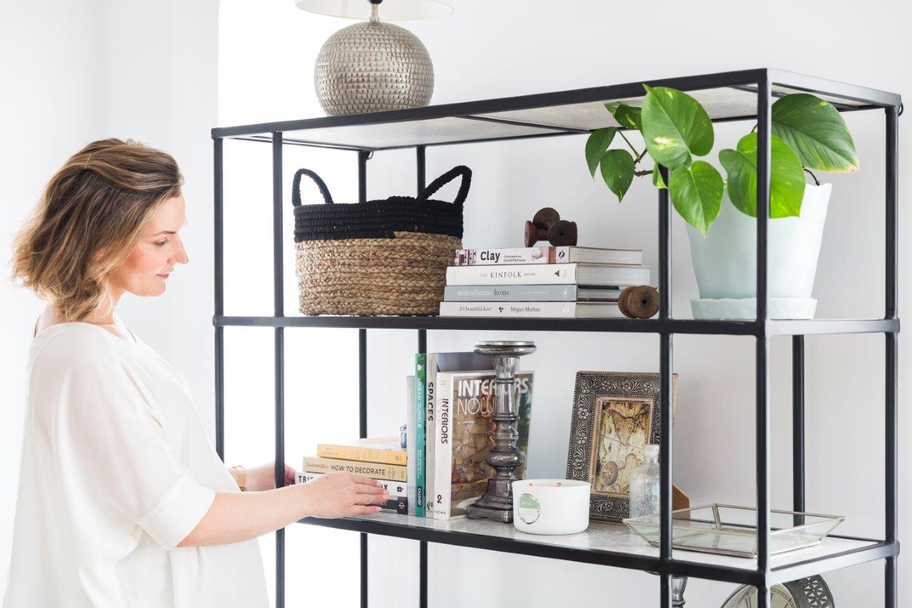 Shelfie spring styling with Gina Ciancio