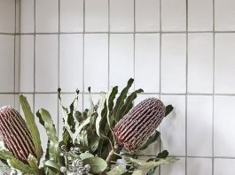 White handmade subway tile