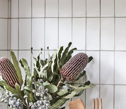 White handmade subway tile