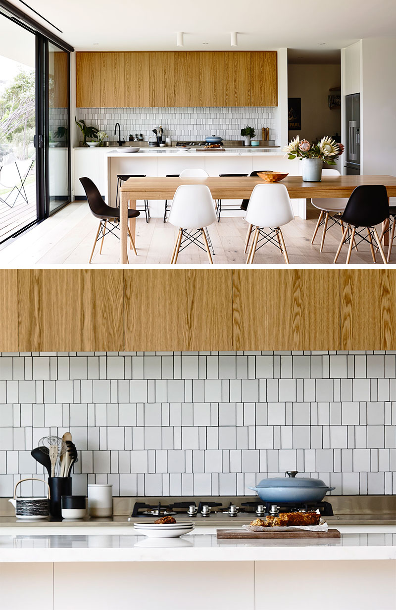 Irregular kitchen mosaic tile