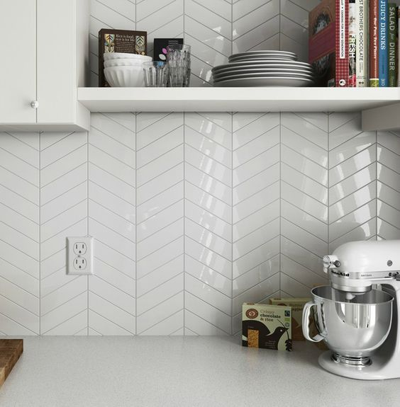 11 Types Of White Kitchen Splashback Tiles Best White Tiles For Your Kitchen
