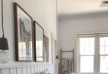 DIY wall panel bedhead
