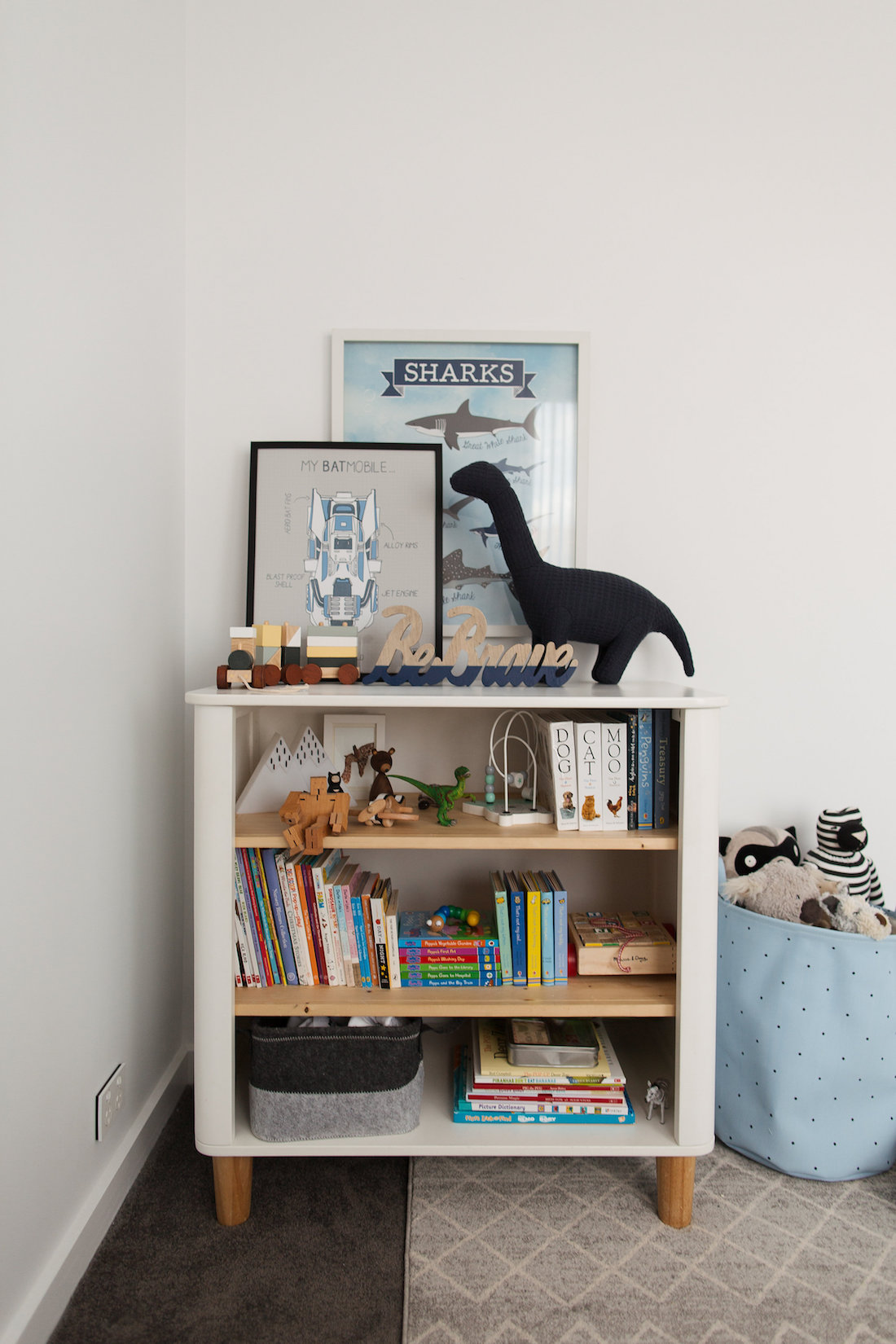 Book case styling stylish and functional kids bedroom