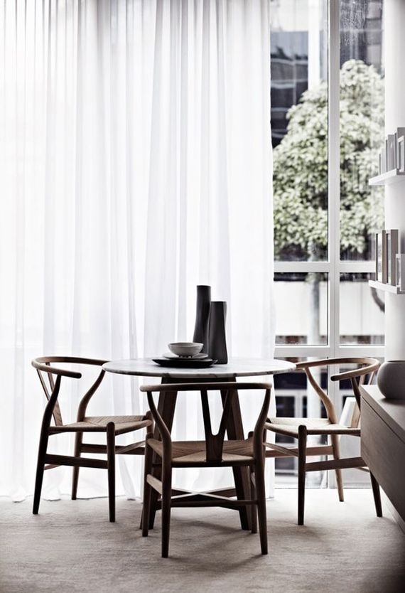 Calm dining room pick the right dining chair