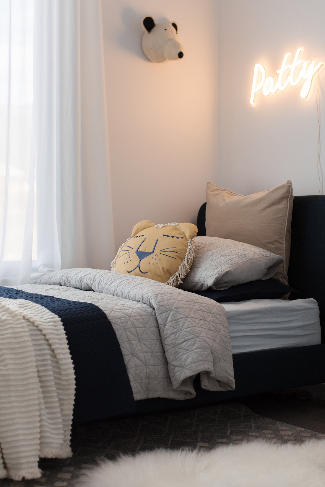 Kids bed styling