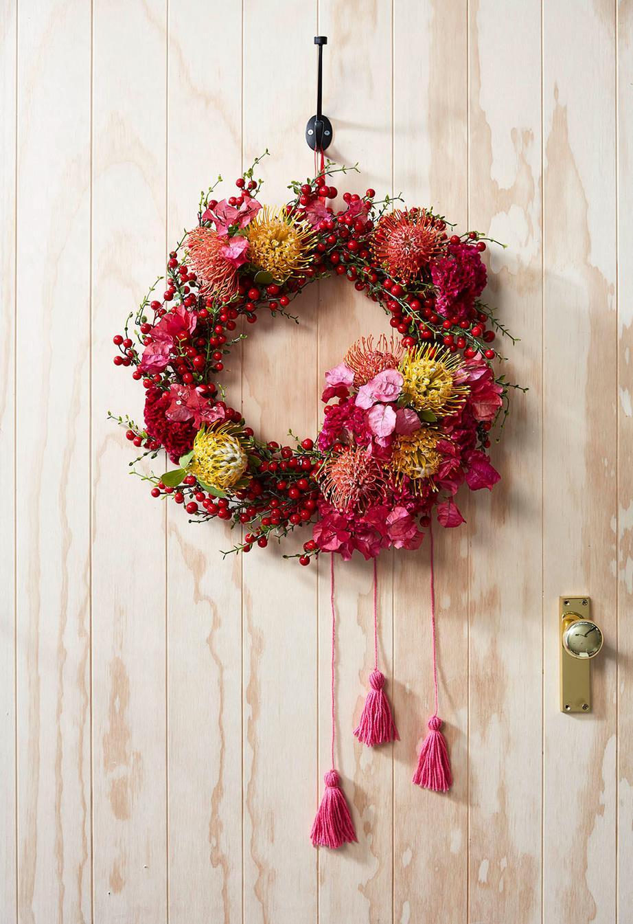 Australian wreath