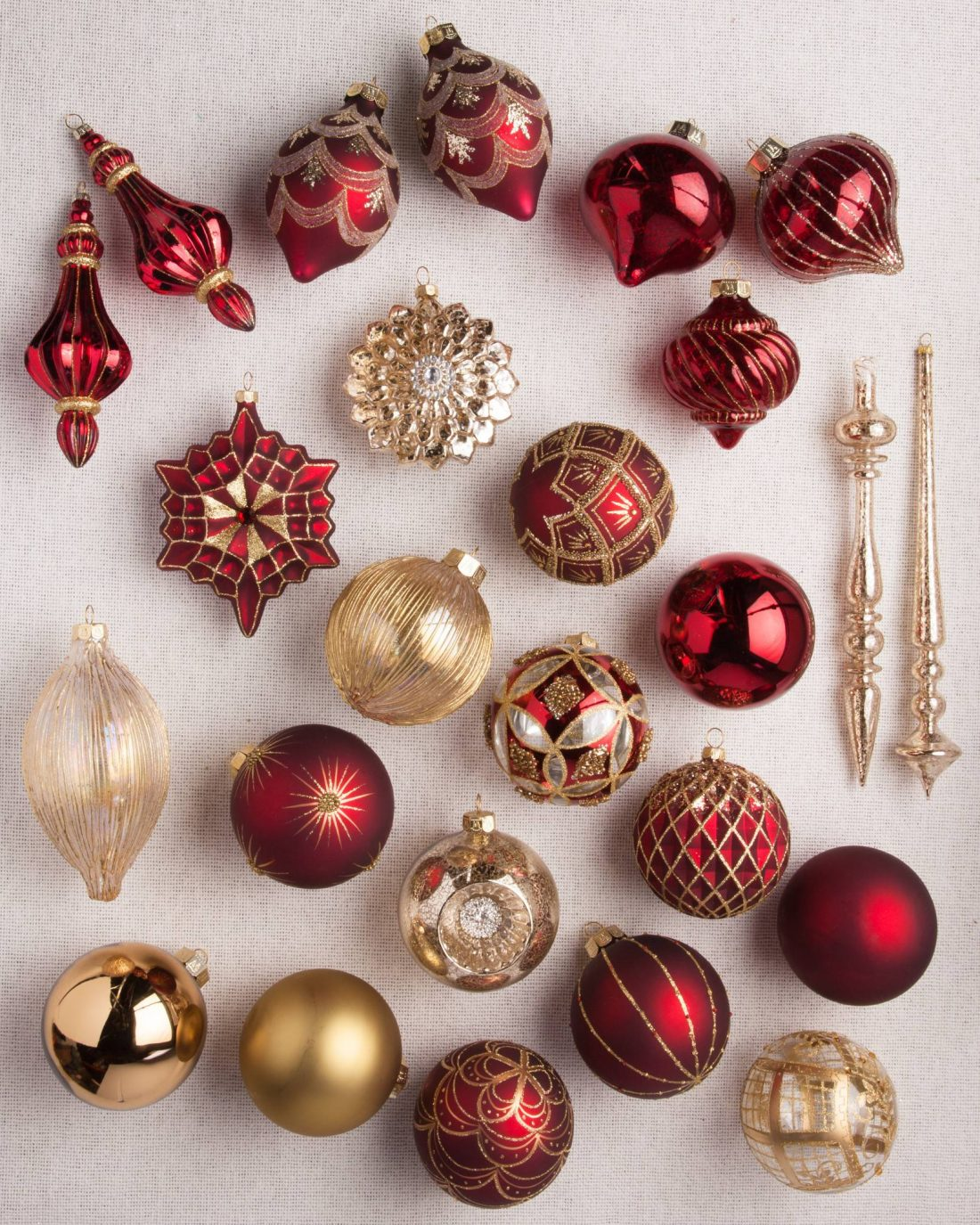 Balsam Hill ornament set