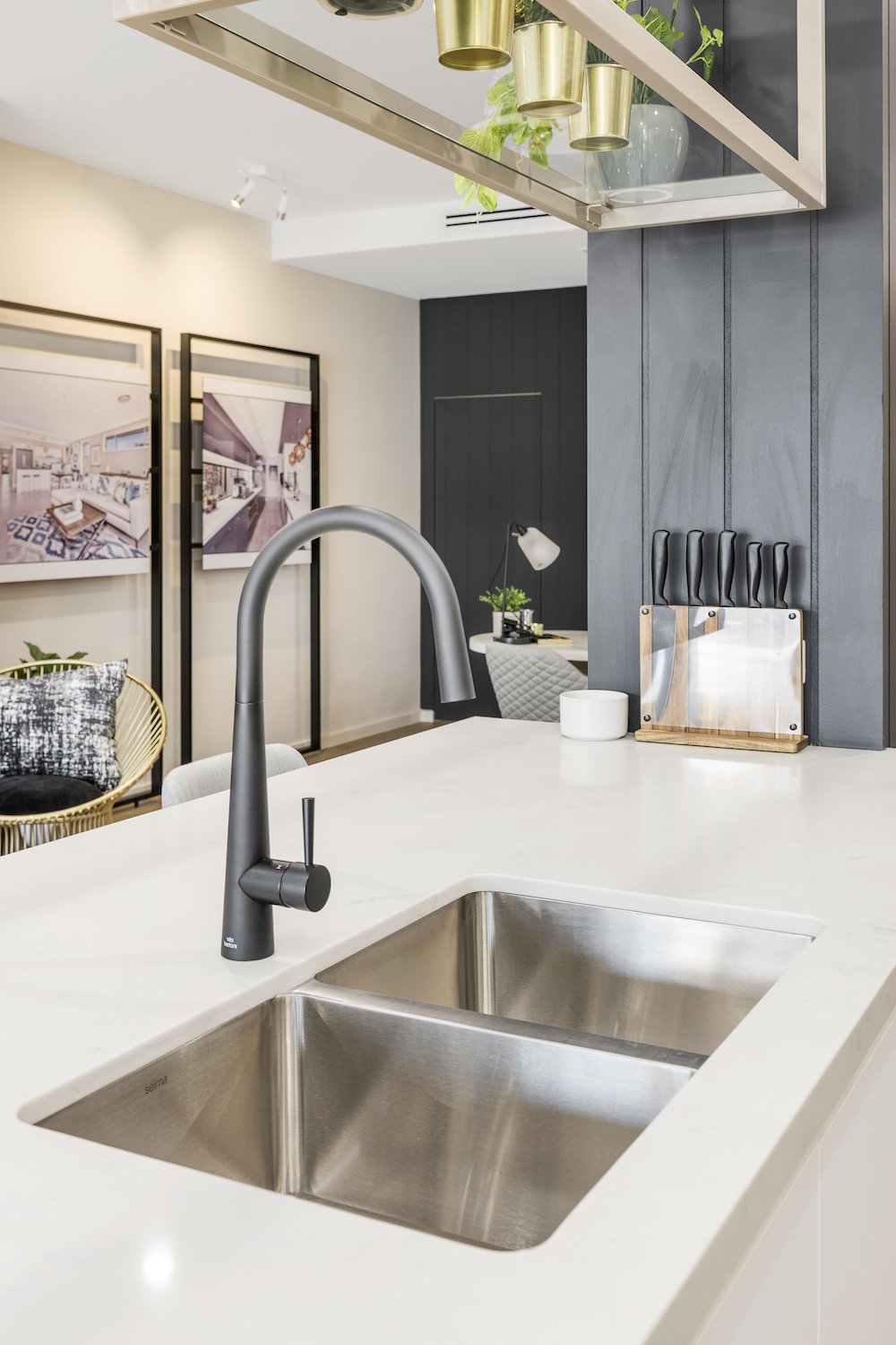 Elderton kitchen tap