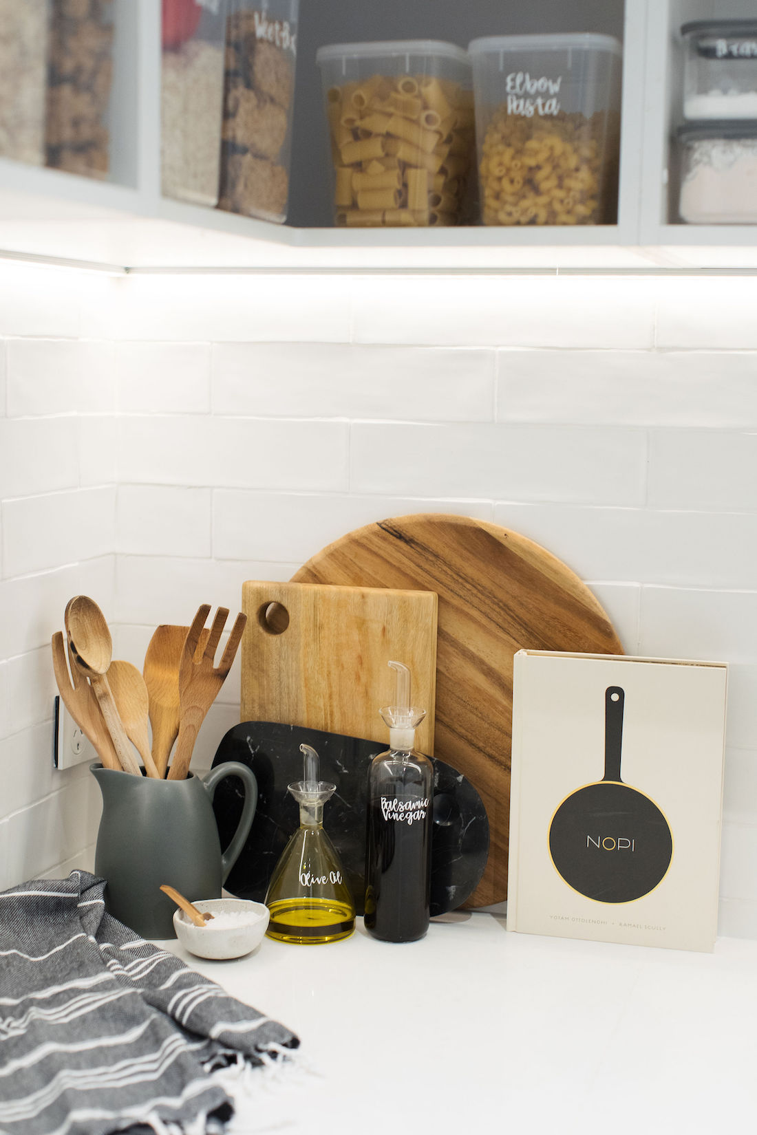 Pantry styling Pinterest worthy pantry