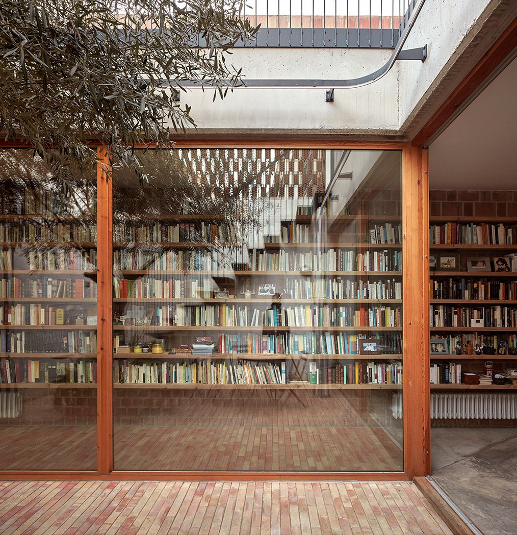 Timber home libraries