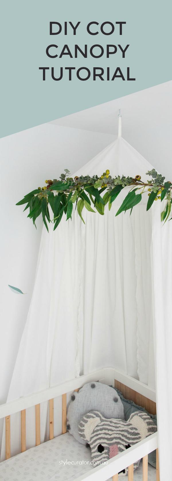 Cot canopy pinterest