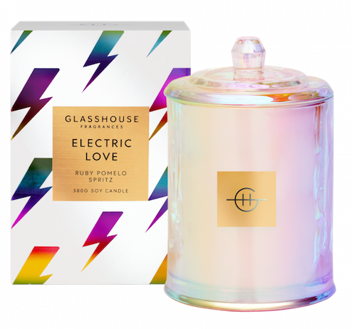 Electric love candle