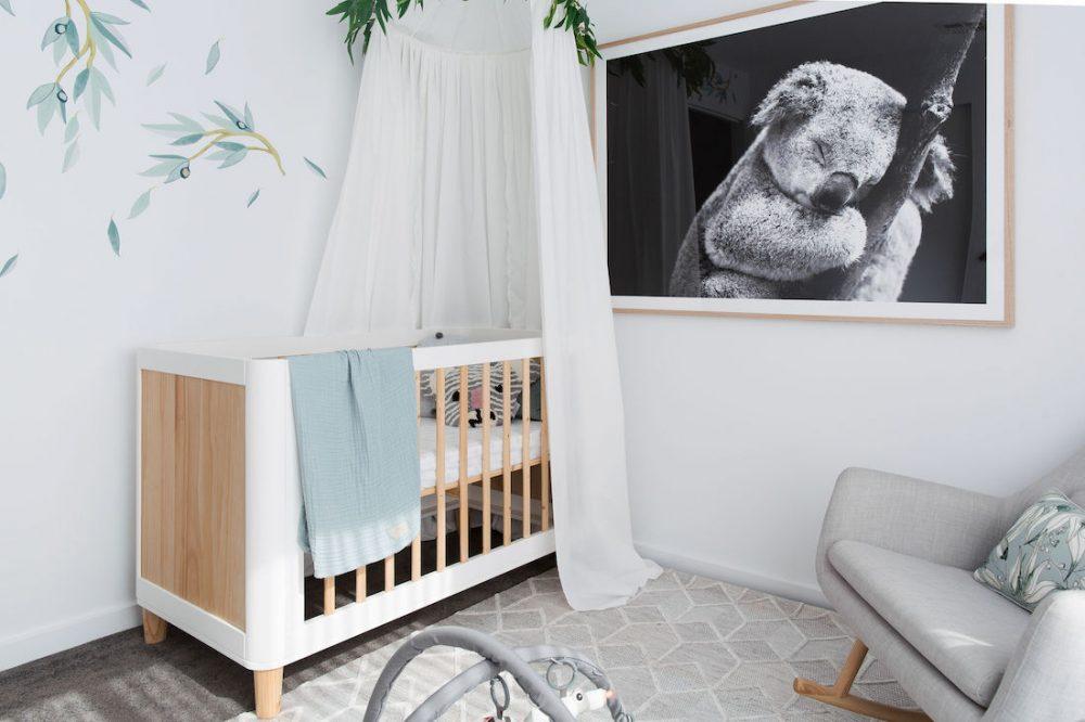 Koala wall print