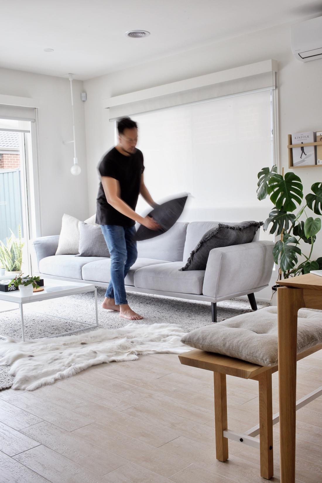 Styling sofa