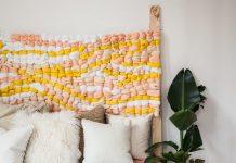 Chunky weave bedhead