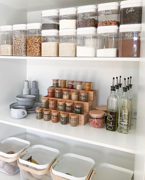 DIY Kmart hack spice rack