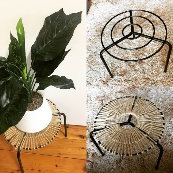 Jute pot plant holder top 20 Kmart hacks